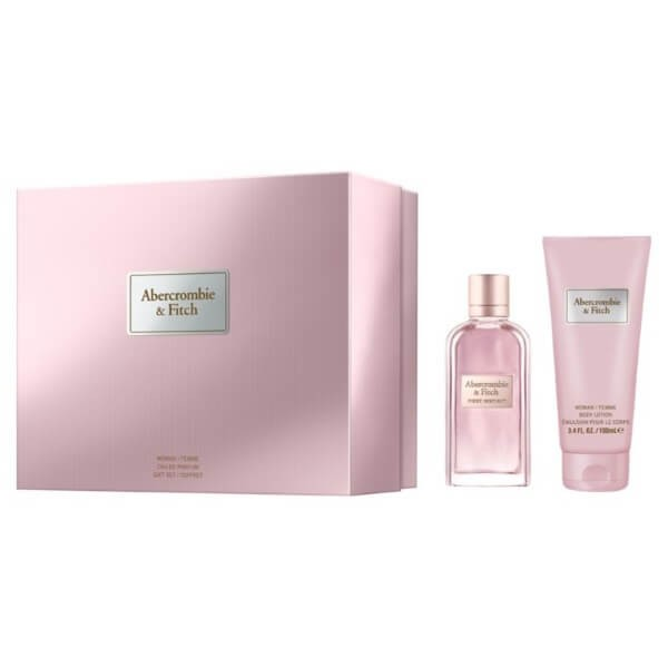 Abercrombie & Fitch First Instinct Woman Set EDP-Bodylotion