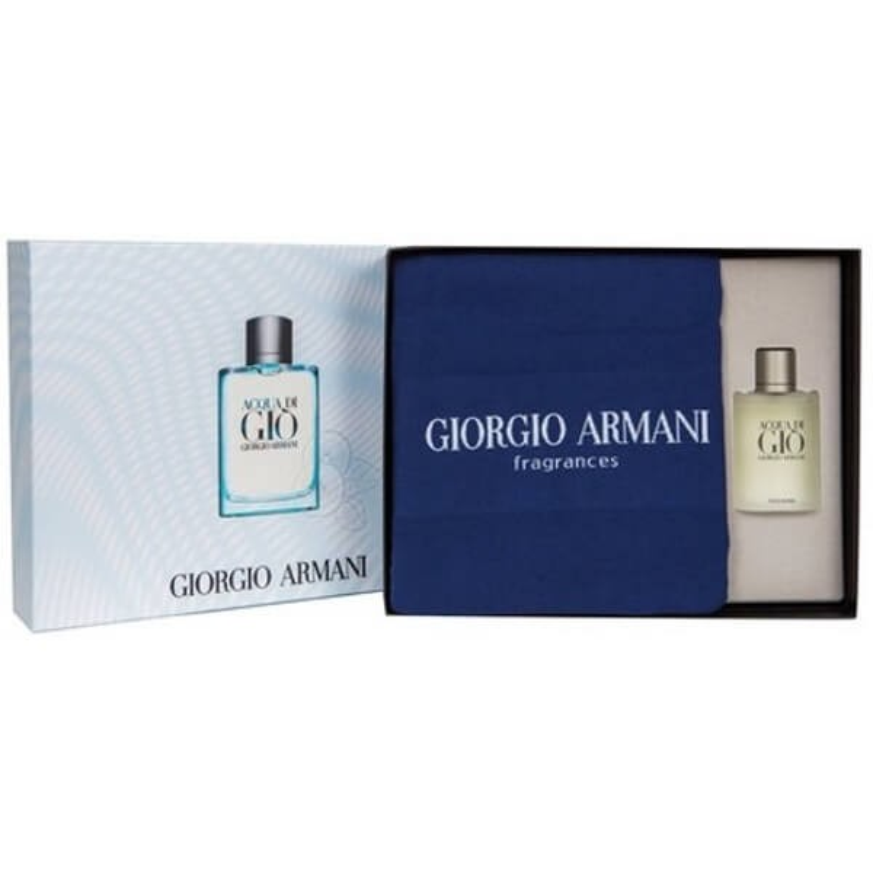 Armani Acqua di Gio Homme Set EDT-Handdoek