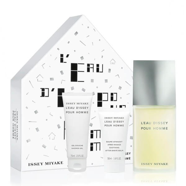 Issey Miyake L'eau d'Issey Pour Homme Set EDT-Douchegel-Aftershave
