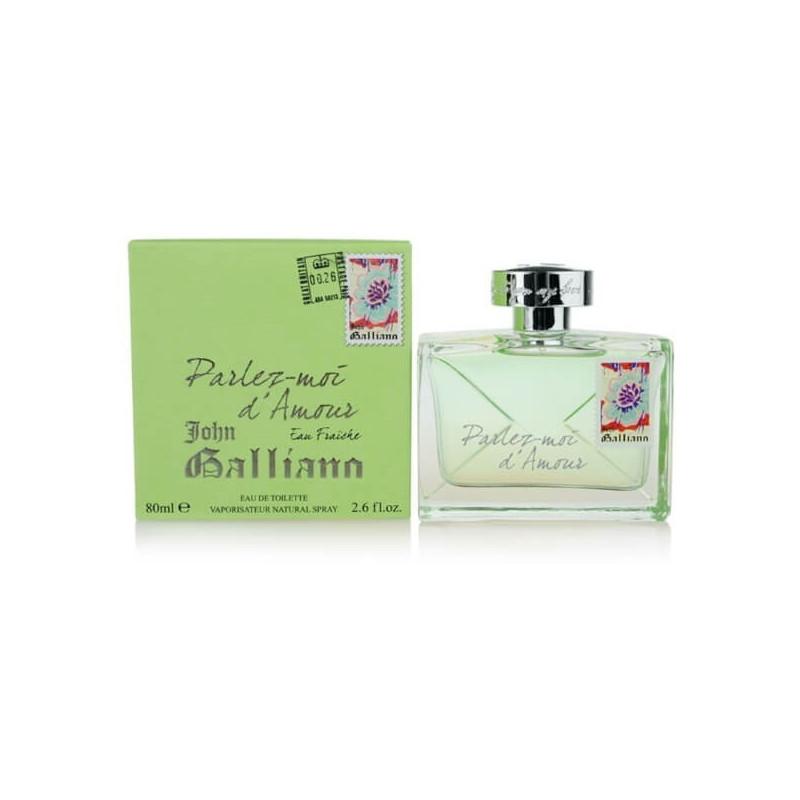 John Galliano Parlez-moi d'Amour Eau Fraiche EDT 80 ml