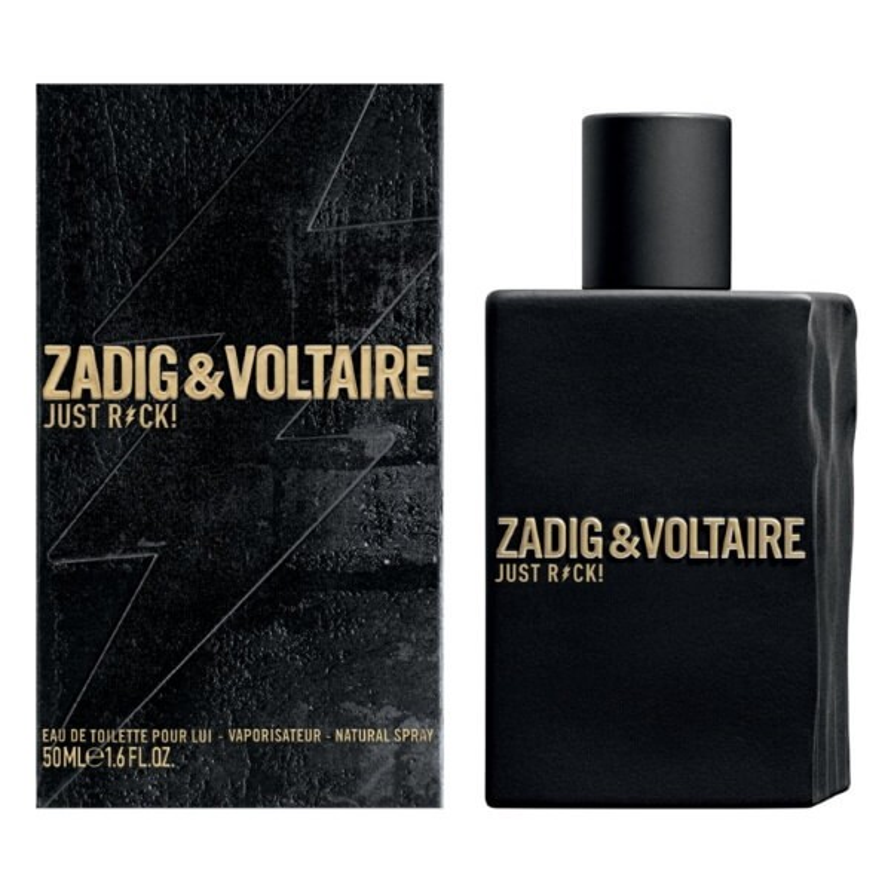 Zadig & Voltaire Just Rock! Pour Lui EDT 50 ml