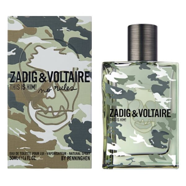 Zadig & Voltaire This is Him! No Rules EDT 50 ml