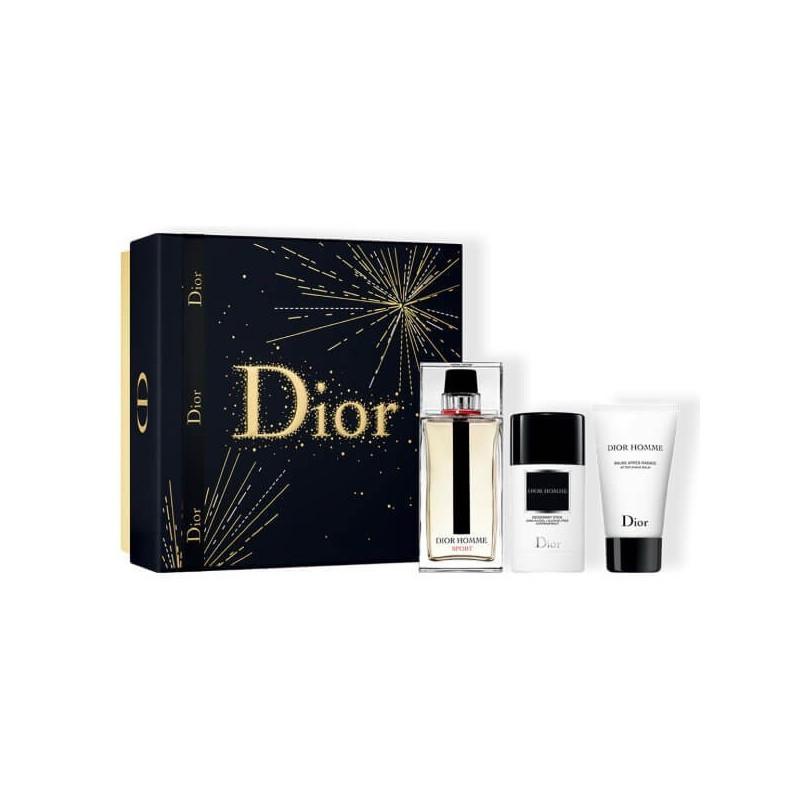 Dior Homme Sport Set EDT-Aftershave Balsem-Deostick