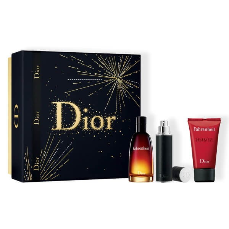 Dior Fahrenheit Set EDT-Douchegel