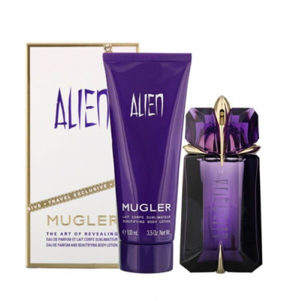 Mugler Alien Set EDP-Bodylotion
